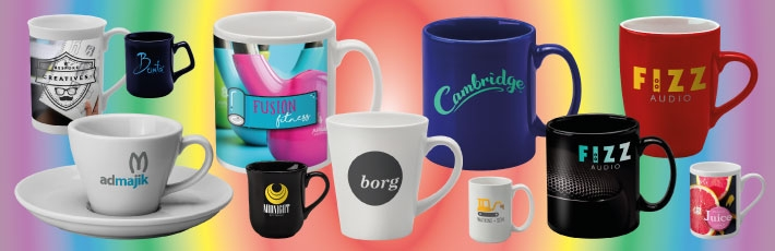 Promotional mugs - print processes